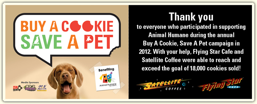 Buy a Cookie Save a Pet 2012 | Thank-You