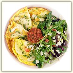 Cafe Menu - Breakfast Spanish Frittata