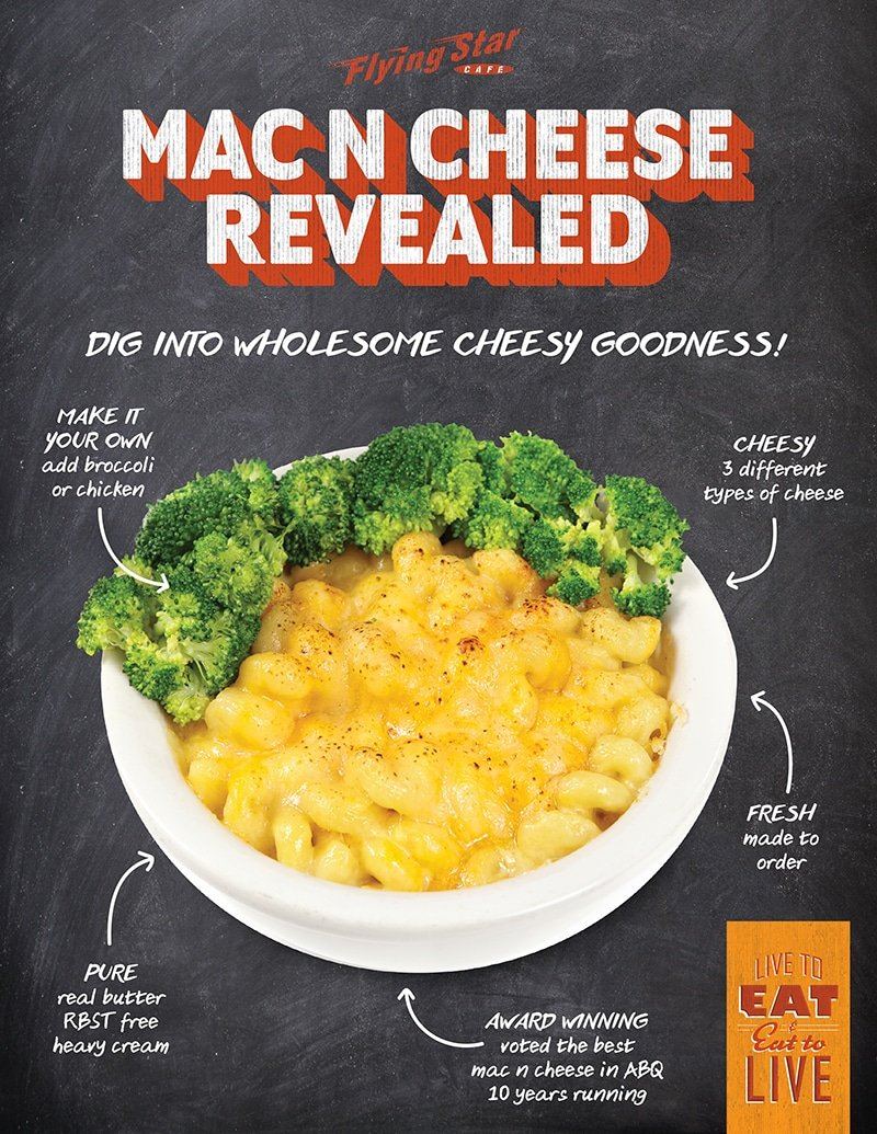 Mac N Cheese Revealed