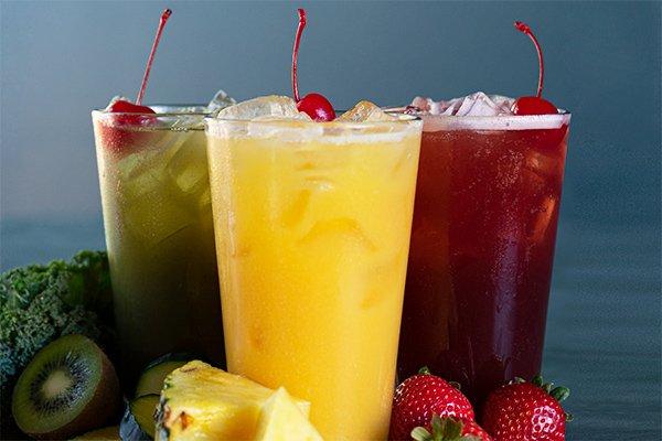100% Fruit Blends