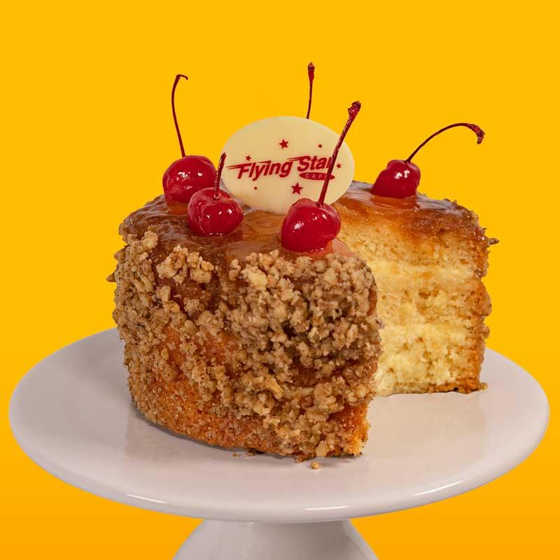 Pineapple Falling Up Cake